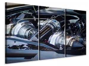 Ljuddämpande tavla - Shiny engine - SilentSwede