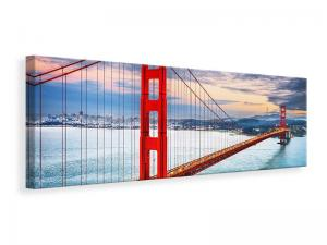 Ljuddämpande tavla - The Golden Gate Bridge At Sunset - SilentSwede
