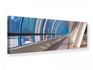 Ljudabsorberande panorama tavla - Hyper modern Bridge - SilentSwede