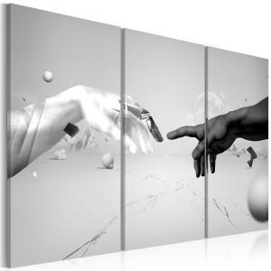 Ljuddämpande tavla - Tryck i svart och vitt - SilentSwede