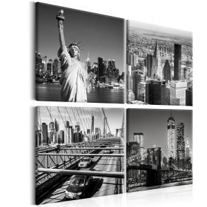 Ljuddämpande tavla - Faces of New York - SilentSwede
