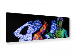 Ljudabsorberande panorama tavla - Bodypainting - SilentSwede