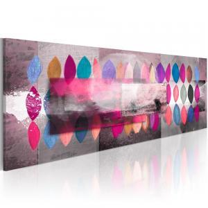 Ljuddämpande handmålad tavla - Color trends - SilentSwede