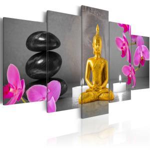 Ljuddämpande tavla - Zen: golden Buddha - SilentSwede