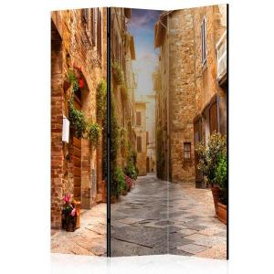 Rumsavdelare - Colourful Street in Tuscany - SilentSwede
