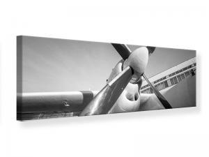Ljudabsorberande panorama tavla - Nostalgic Aircraft - SilentSwede
