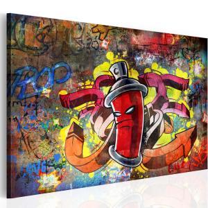 Ljuddämpande & ljudabsorberande tavla - Graffiti master - SilentSwede