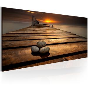 Ljuddämpande tavla - Stones on the Pier - SilentSwede