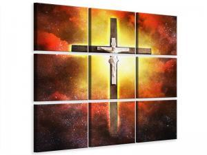 Ljudabsorberande 9 delad tavla - Holy Cross - SilentSwede