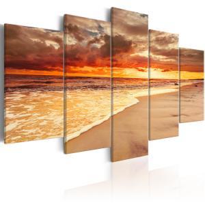 Ljuddämpande tavla - Sea: Beautiful Sunset - SilentSwede