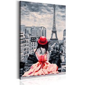 Ljuddämpande tavla - Romantic Paris - SilentSwede