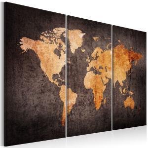 Ljuddämpande tavla - Chestnut World Map - SilentSwede