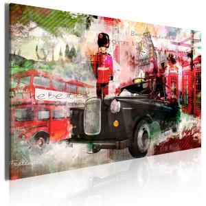 Ljuddämpande & ljudabsorberande tavla - Memories from London - SilentSwede