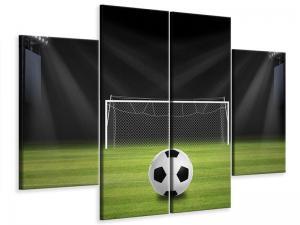 Ljudabsorberande 4 delad tavla - Soccer-Goal - SilentSwede
