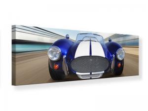 Ljudabsorberande panorama tavla - Racing Car - SilentSwede