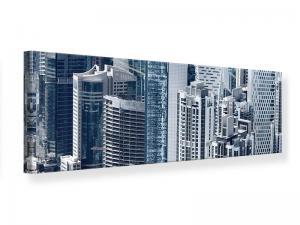 Ljudabsorberande panorama tavla - The Skyscrapers Of Dubai - SilentSwede