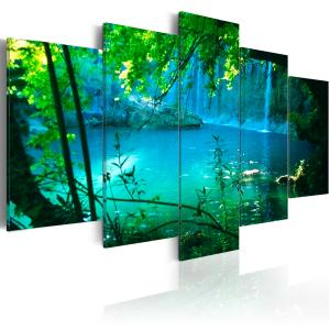 Ljuddämpande tavla - Turquoise seclusion - SilentSwede