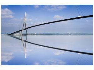Ljudabsorberande tavla - The Pont de Normandie - SilentSwede
