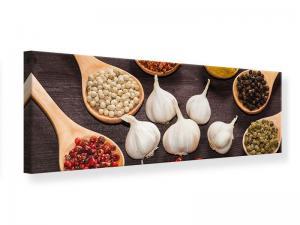 Ljudabsorberande panorama tavla - Italian Spices - SilentSwede