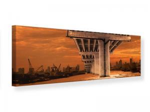 Ljudabsorberande panorama tavla - The Bridge - SilentSwede