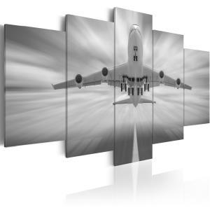 Ljuddämpande tavla - Flygplan - SilentSwede
