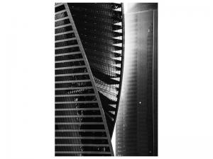 Ljudabsorberande tavla - Skyscraper - SilentSwede