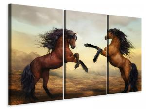 Ljuddämpande tavla - Two wild horses - SilentSwede