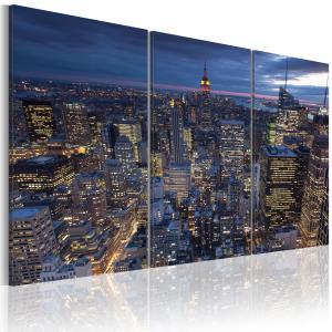 Ljuddämpande tavla - Vy från ovan - NYC - SilentSwede