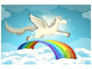 Ljudabsorberande tavla - The Unicorn - SilentSwede