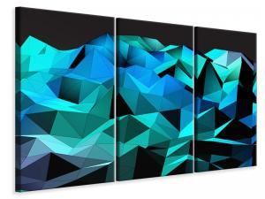 Ljuddämpande tavla - 3D Diamonds - SilentSwede
