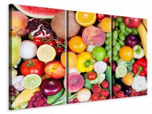 Ljuddämpande tavla - Fresh Fruit - SilentSwede