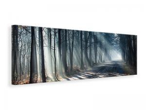 Ljuddämpande tavla - Forest In The Light Beam - SilentSwede