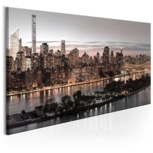 Ljuddämpande tavla - Manhattan at Twilight - SilentSwede