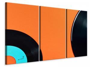 Ljuddämpande tavla - Retro vinyl record motif - SilentSwede