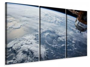 Ljuddämpande tavla - Satellite picture - SilentSwede