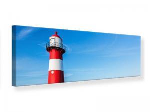 Ljudabsorberande panorama tavla - Summer At The Lighthouse - SilentSwede