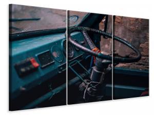 Ljuddämpande tavla - Old vehicle cabin - SilentSwede