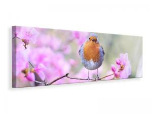 Ljuddämpande tavla - Spring bird - SilentSwede