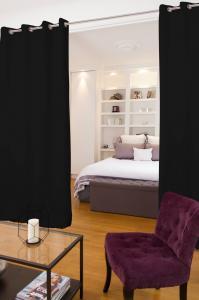 Ljudabsorberande rumsavdelare i tyg - 140x250cm - SilentSwede