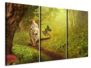 Ljuddämpande tavla - Forest excursion - SilentSwede
