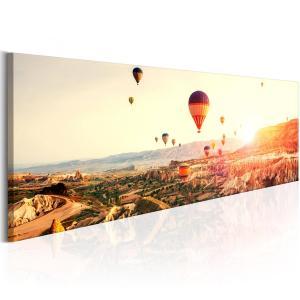 Ljuddämpande & ljudabsorberande tavla - Balloon Rides - SilentSwede