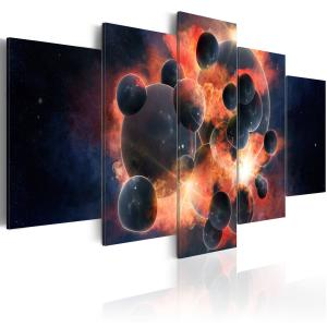 Ljuddämpande tavla - Teori om universum skapande - SilentSwede