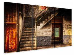 Ljuddämpande tavla - Abandoned stairs - SilentSwede