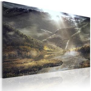 Ljuddämpande tavla - The land of mists - SilentSwede