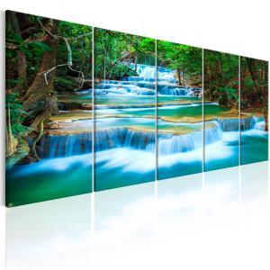 Ljuddämpande tavla - Sapphire Waterfalls I - SilentSwede