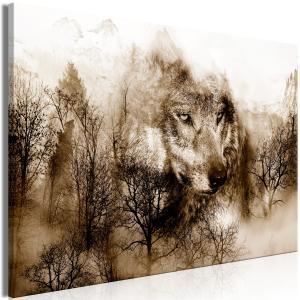 Ljuddämpande tavla - Mountain Predator Brown - SilentSwede