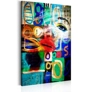 Ljuddämpande tavla - Kiss of Modernity - SilentSwede