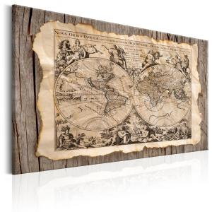 Ljuddämpande & ljudabsorberande tavla - The Map of the Past - SilentSwede