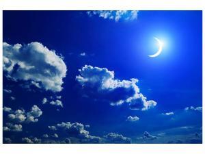 Ljudabsorberande tavla - The Moon - SilentSwede