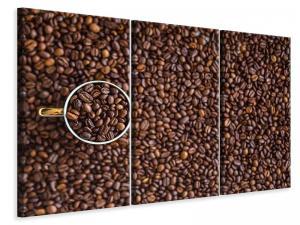 Ljuddämpande tavla - All coffee beans - SilentSwede
